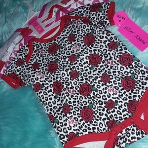 ADORABLE 4 PIECE BABY BODYSUITS BY BETSEY JOHNSON